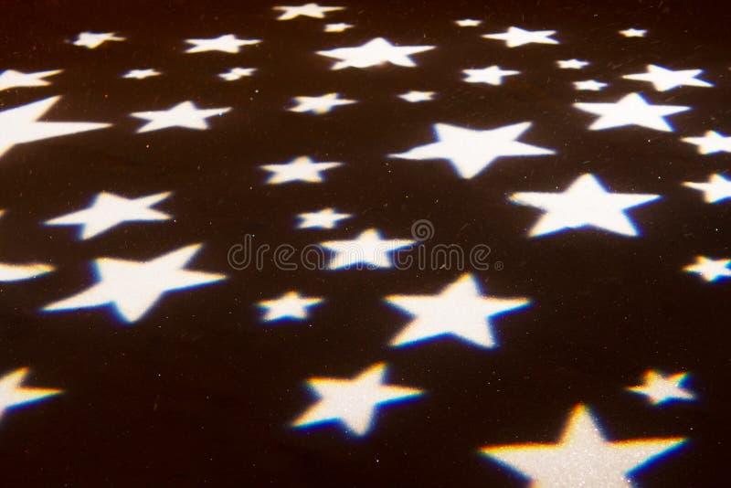 Bokeh de flou de lumières des étoiles photo libre de droits
