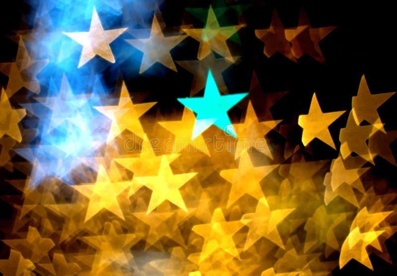 Bokeh de la estrella fotografía de archivo libre de regalías