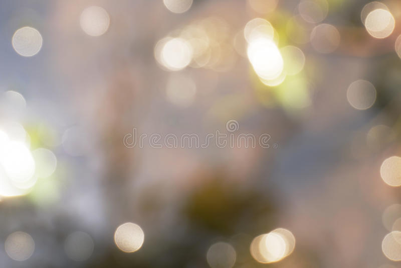 Bokeh de la luz del sol imagenes de archivo