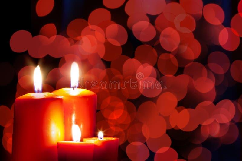 Bokeh de la Navidad fotografía de archivo libre de regalías