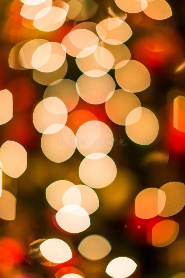Bokeh de la Navidad fotos de archivo