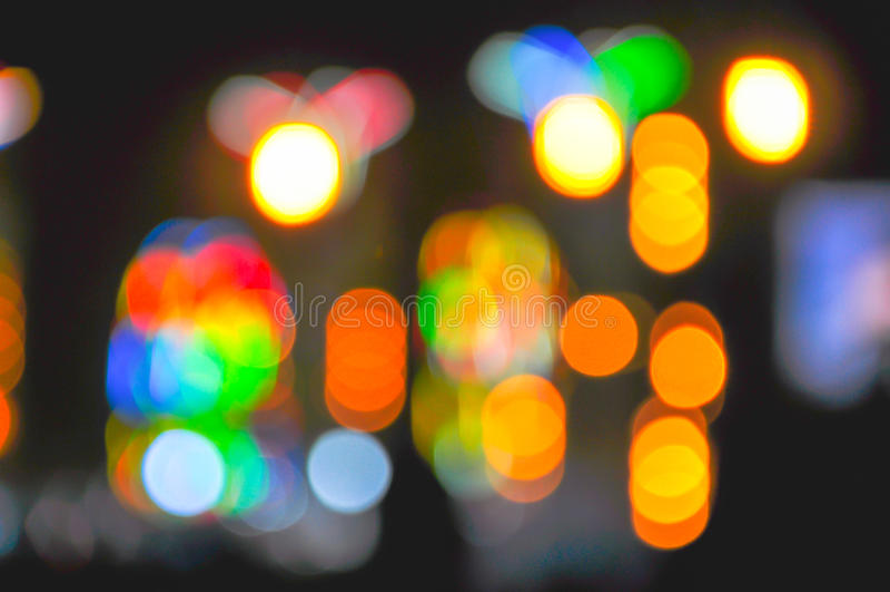 Bokeh de lumière photos libres de droits