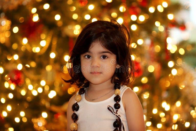 Bokeh de lumières de Noël image libre de droits