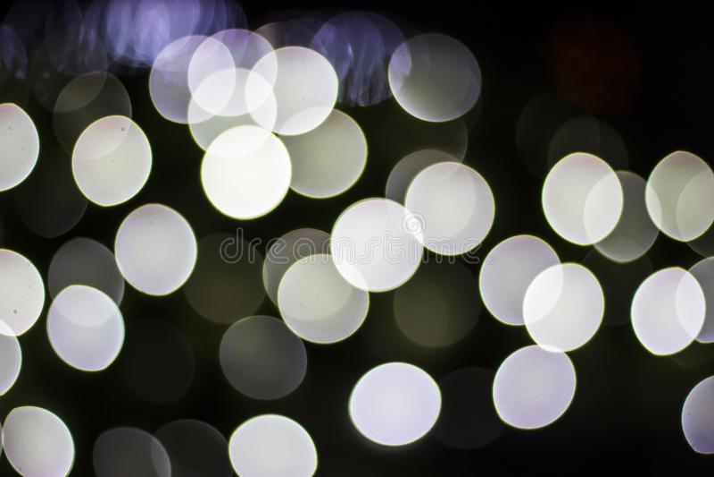 Bokeh de luzes sazonais imagens de stock royalty free