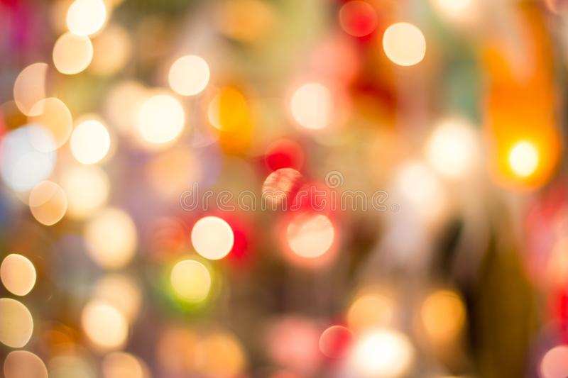 Bokeh decorative outdoor string lights hanging on a tree in the bokeh decorative outdoor string lights hanging on a tree in the garden at night time decorative christmas lights happy new year aloadofball Gallery