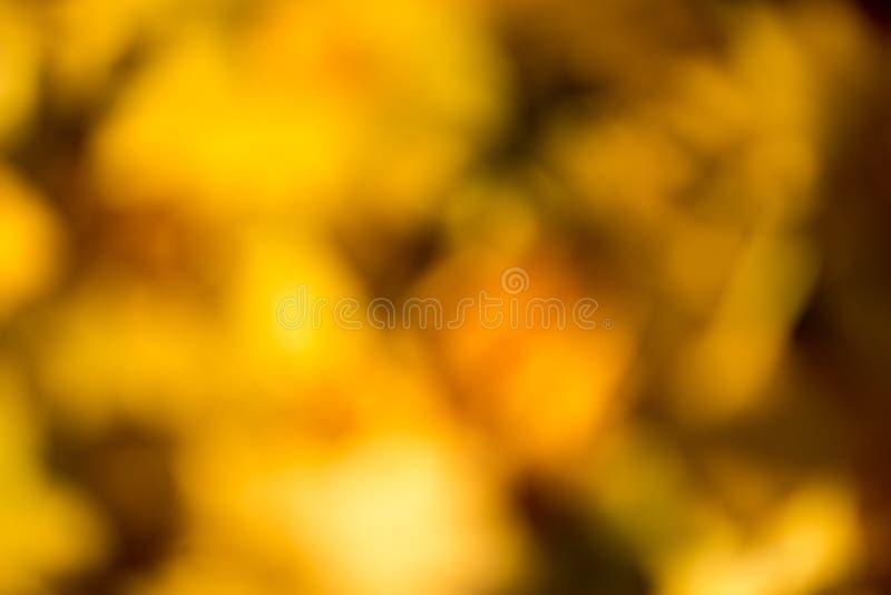 Bokeh del otoño fotografía de archivo libre de regalías
