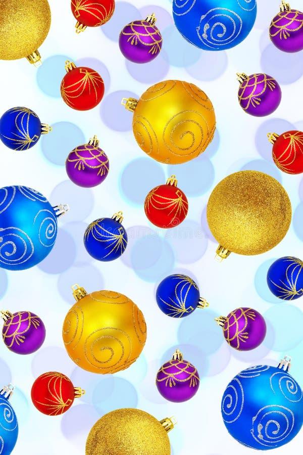 Bokeh do Natal imagens de stock royalty free