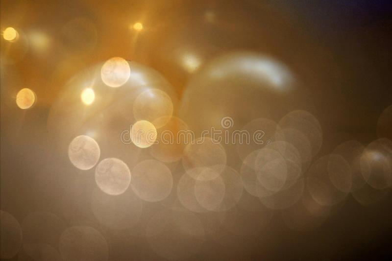 Bokeh e grânulos fotografia de stock royalty free