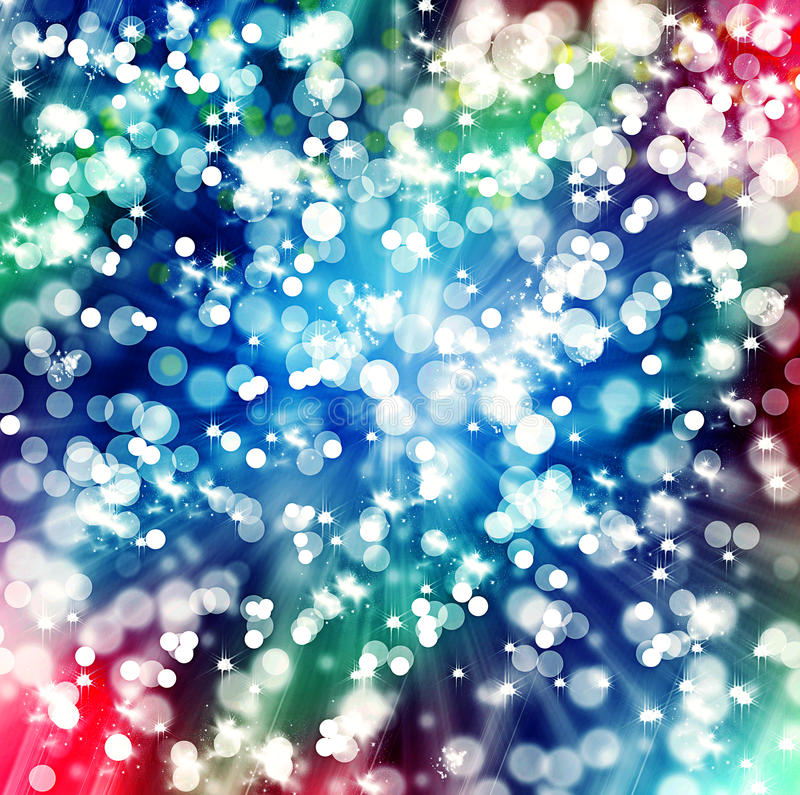 bokeh en un fondo coloreado libre illustration