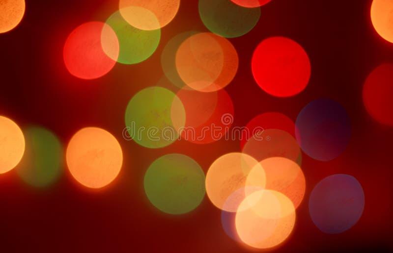 Bokeh för ` s för nytt år nytt år Bokeh från ljusen av en girland Lamporna är på festlig mood Abstraktion och bakgrund royaltyfri illustrationer
