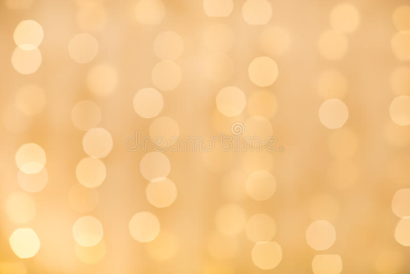 Bokeh giallo fotografia stock