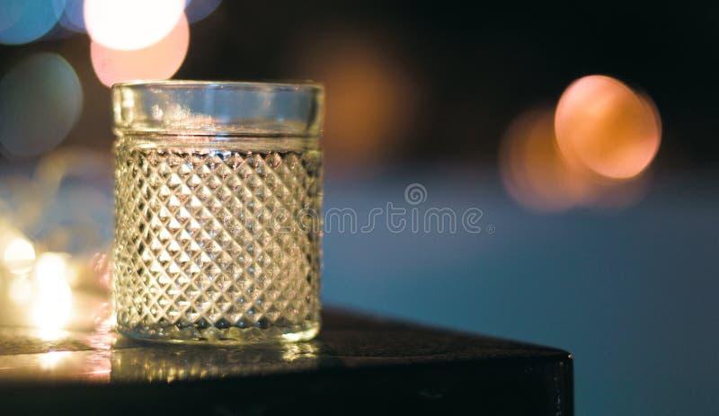 Bokeh-Glas stockfotos
