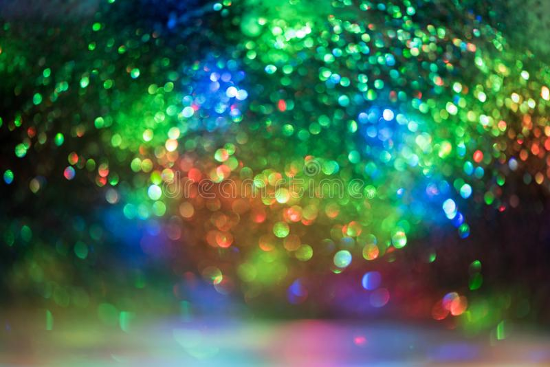 bokeh glitter Colorfull Blurred abstract background for birthday stock photos