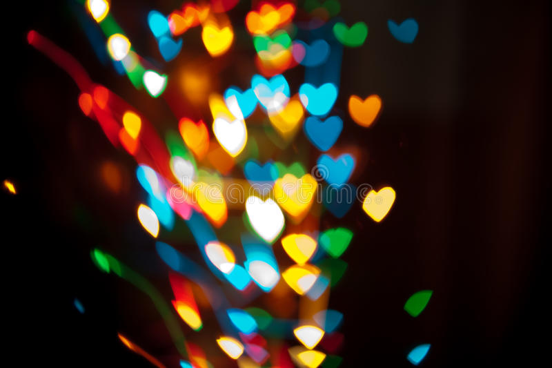 Download Bokeh Hearts Royalty Free Stock Image - Image: 25986586