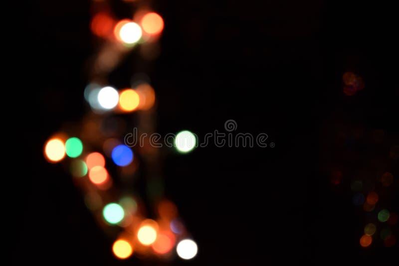 Bokeh heller abstrakter Hintergrund Varicoloureds-Flecken des Lichtes für Hintergrund stock abbildung