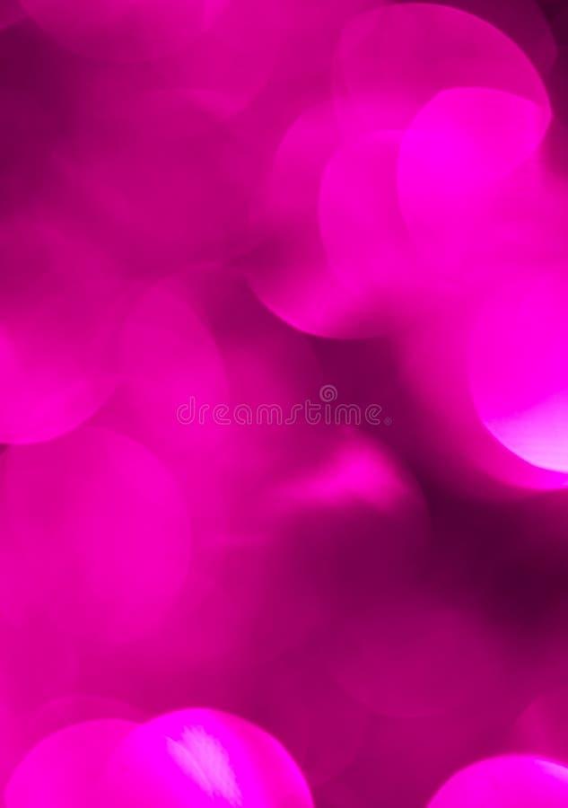 Bokeh hermoso de la púrpura de la Navidad Fondo imágenes de archivo libres de regalías