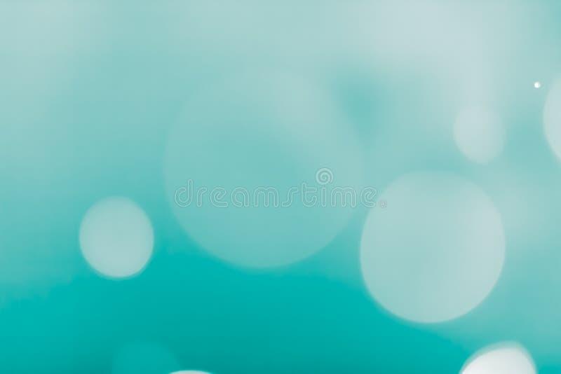 bokeh Hintergrund turguoise stockbild