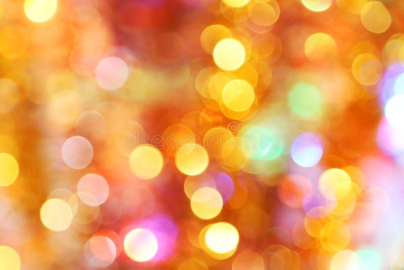 Bokeh ilumina o fundo, fim acima fotos de stock royalty free