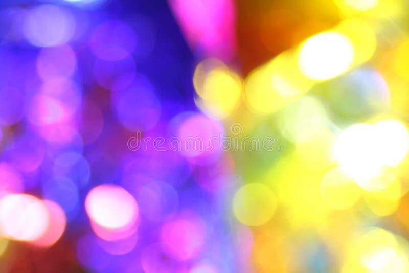 bokeh kleurenachtergrond royalty-vrije stock afbeelding