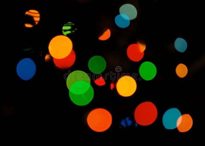 bokeh kolorowe Różni kolory Bokeh, abstrakta światło, tło Święta kolor tła Wakacje tło światła Co zdjęcie stock