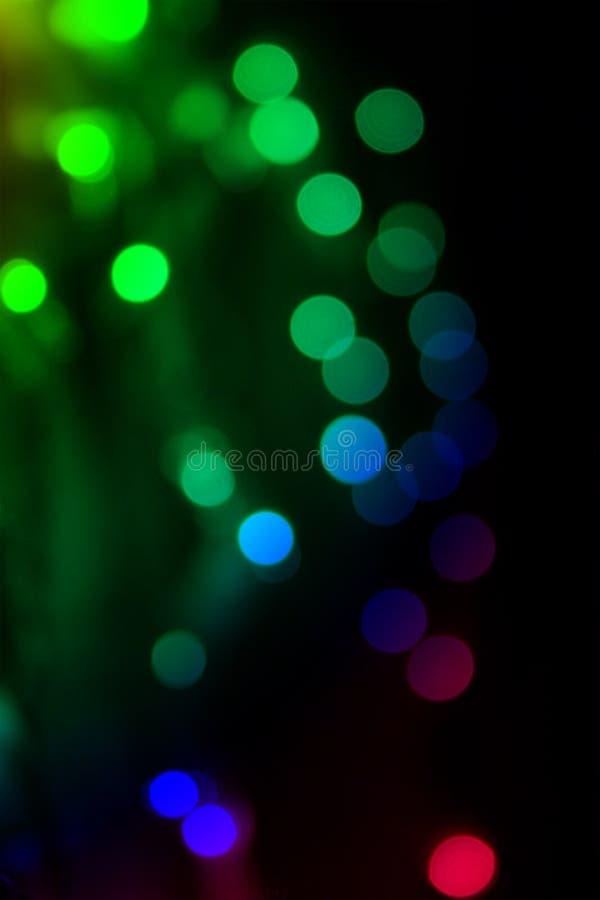 Bokeh Leuchte lizenzfreies stockbild