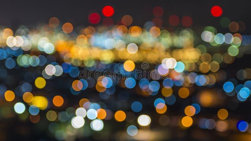 Bokeh Leuchten lizenzfreie stockfotografie