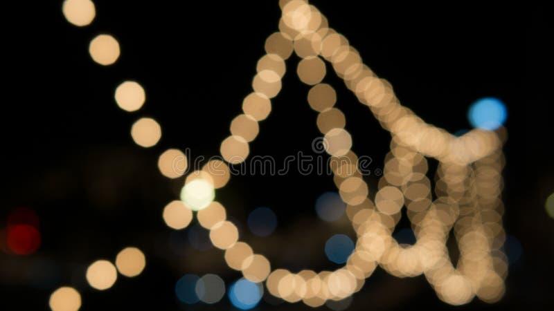 Bokeh-Licht auf Hintergrund lizenzfreie stockfotografie