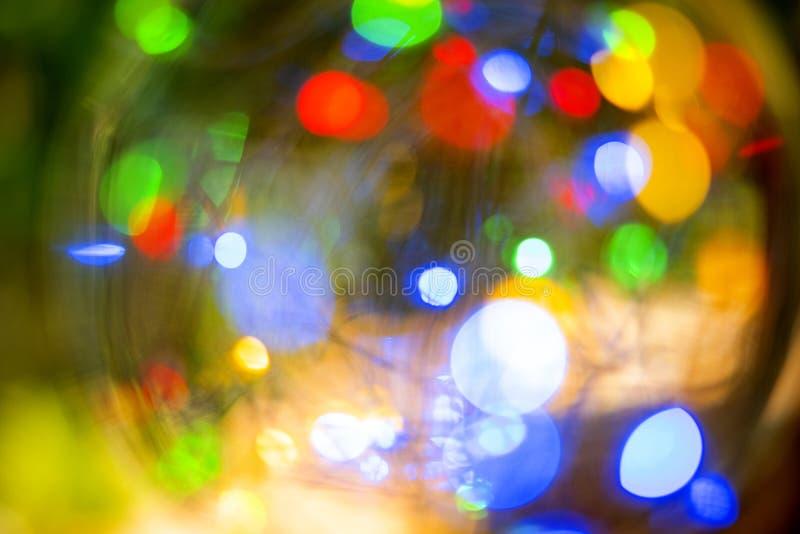 Bokeh Licht des Bildes LED stockbilder