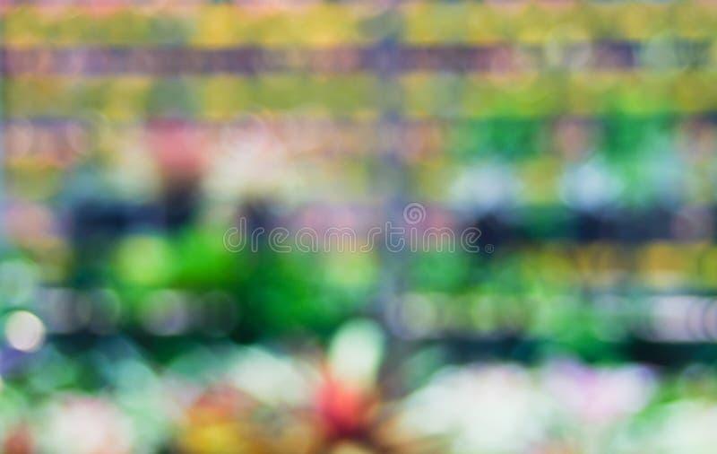 bokeh ligero del color del extracto foto de archivo libre de regalías