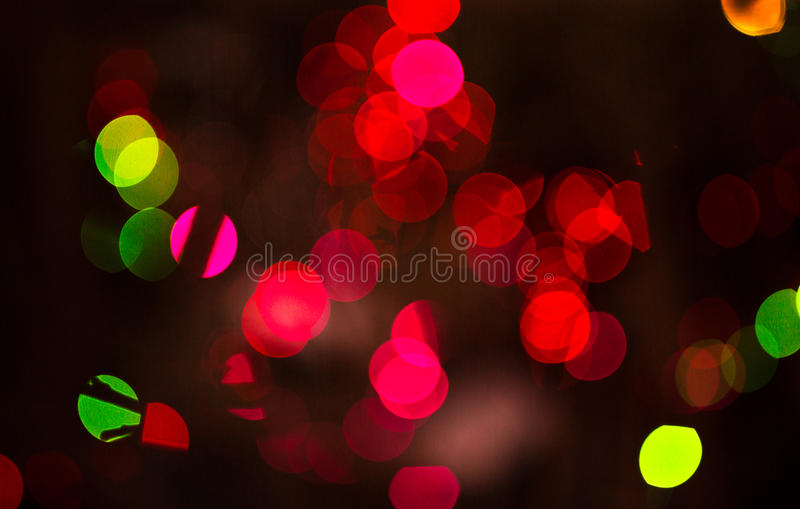 Bokeh light. Abstract colorful Bokeh light blur background stock images