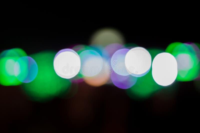 Bokeh light color. stock image