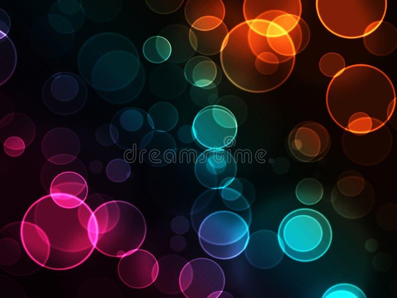 Bokeh lights vector illustration