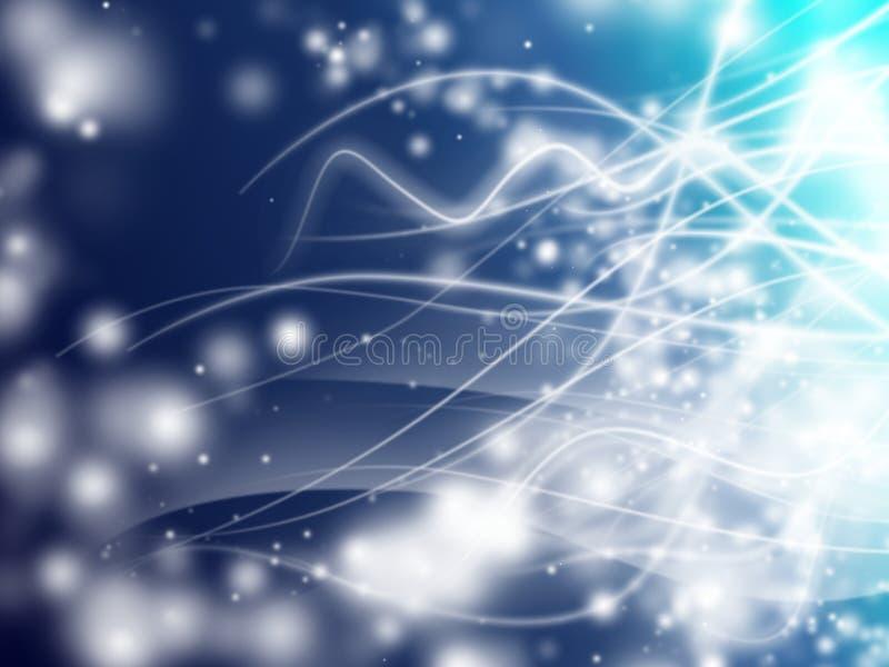 Bokeh lights royalty free illustration