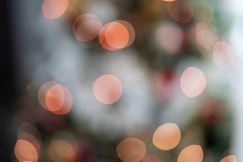 Bokeh Lights With Fog Effect stock image