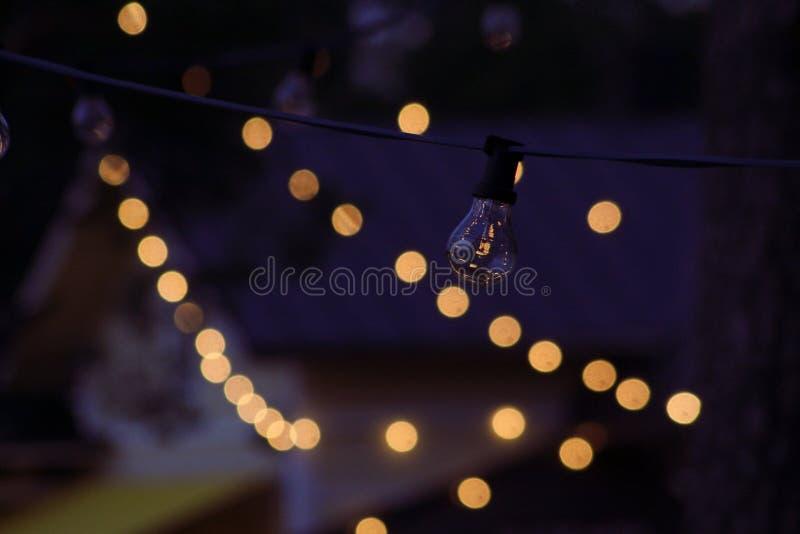 Bokeh lights stock image