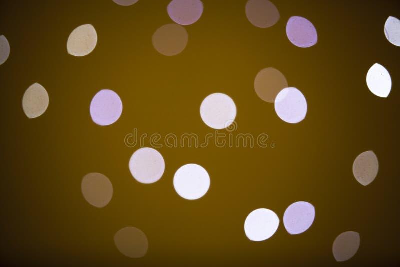 Bokeh ljus färg royaltyfria foton