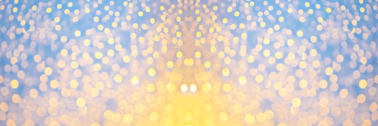Bokeh night light at city for background. Beautiful circle glitter merry christmas and happy new year. stock photos