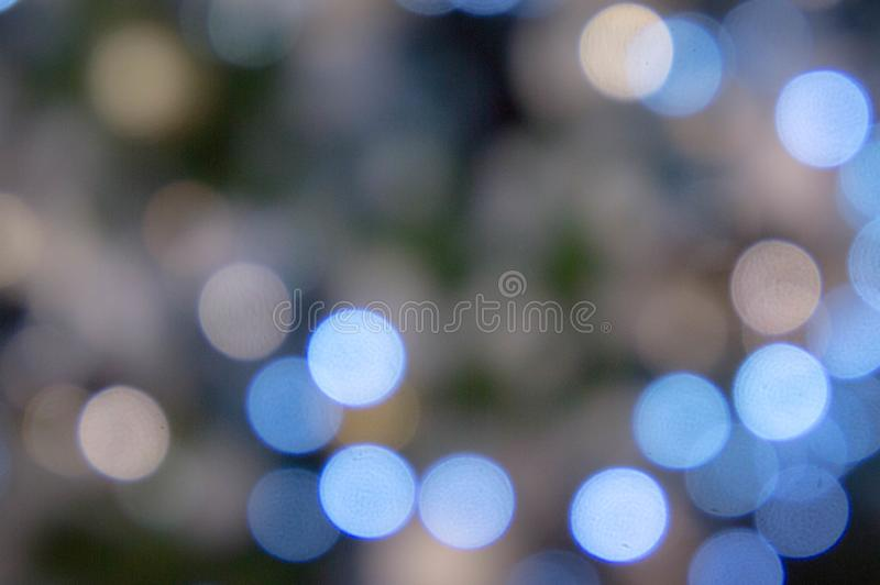 Bokeh night light , party in the night and Festival day, abstract bokeh blue and black color background.  stock photos