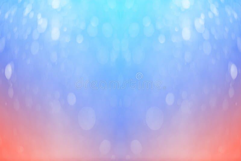 Bokeh no estilo macio da cor para o fundo imagem de stock