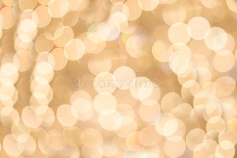Bokeh od świecznika zdjęcie royalty free