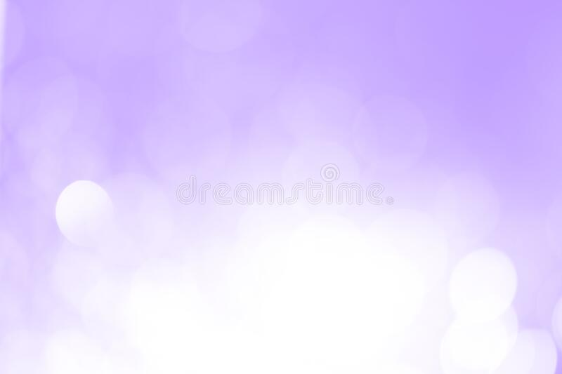 Bokeh pastel purple background used to design royalty free stock photo