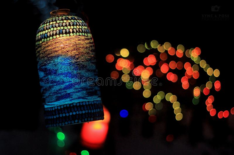 Bokeh Photography stock images