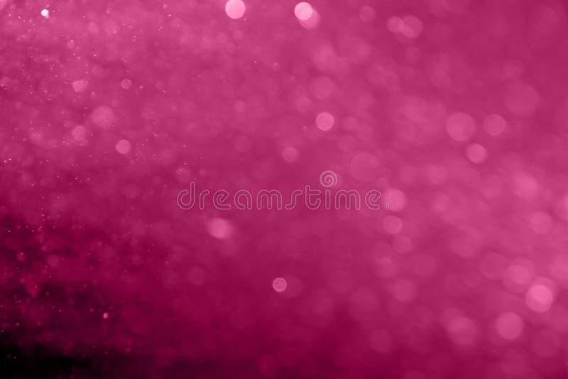 Bokeh rosa circolare astratto fotografia stock
