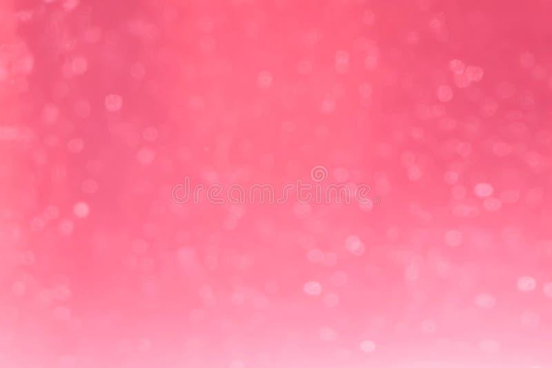 Bokeh rosado para el fondo fotografía de archivo libre de regalías