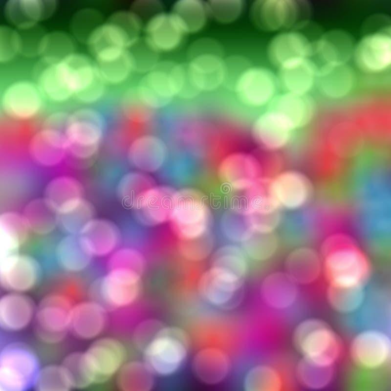 Bokeh rosado verde, fondo fotografía de archivo libre de regalías