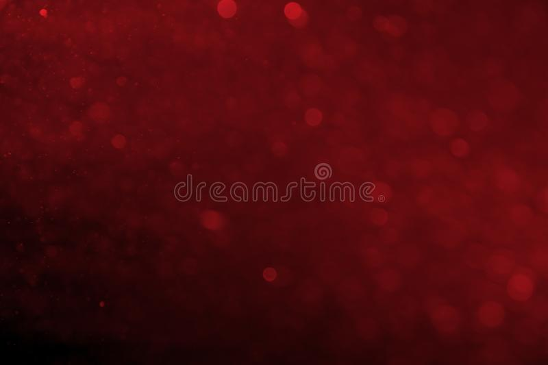 Bokeh rosso circolare astratto fotografia stock