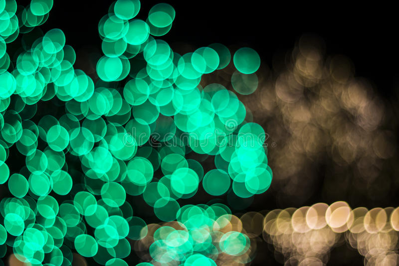 Bokeh of Seasonal Lights. In photography, bokeh is the aesthetic quality of the blur produced in the out-of-focus parts of an image produced by a lens. Bokeh has royalty free stock images