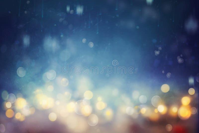 Bokeh shiny abstract background royalty free stock photo