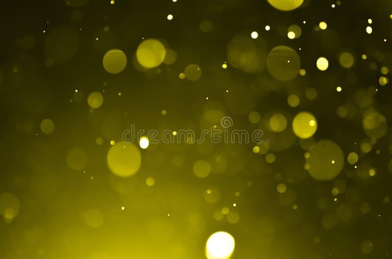 Bokeh skutka światła tło zdjęcie stock