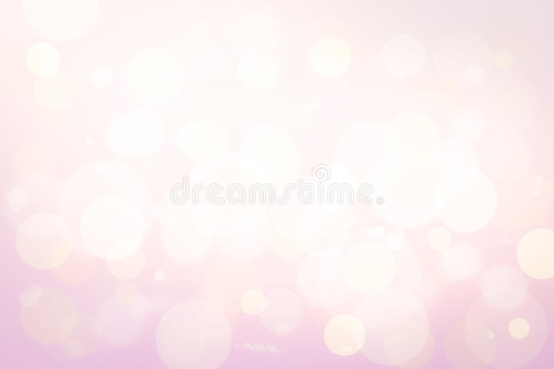 Bokeh in soft color style royalty free stock images